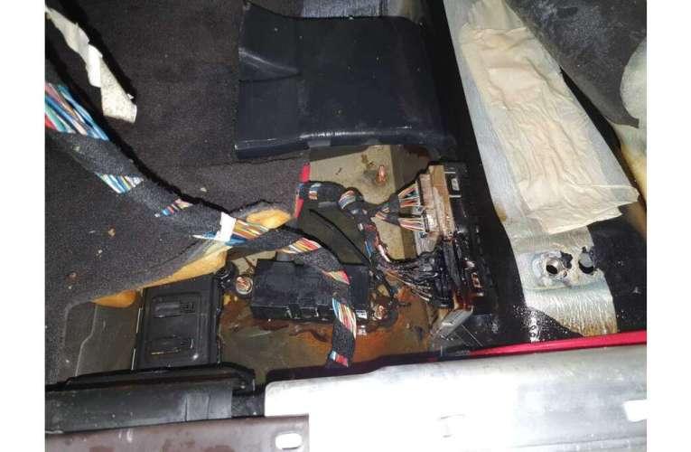 O mașină a luat foc, la Vaslui!