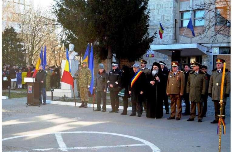 Slujbă de mulțumire în toate bisericile din Episcopia Hușilor, la aniversarea Unirii Principatelor Române