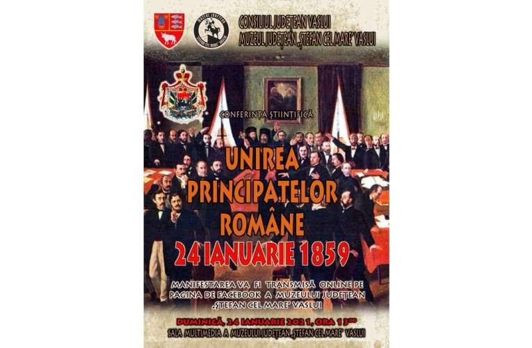 Conferință științifică la Muzeul Județean, transmisă online! Se împlinesc 162 de ani de la Unirea Principatelor!