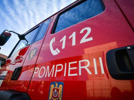 Incendiu de proporții la o locuință din Bârlad