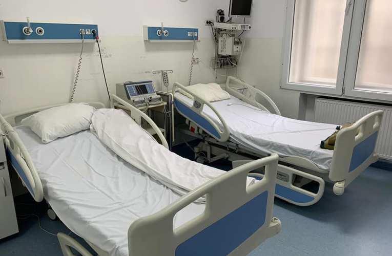 Iată situația paturilor ATI disponibile pentru bolnavii Covid! Vaslui, un singur loc!