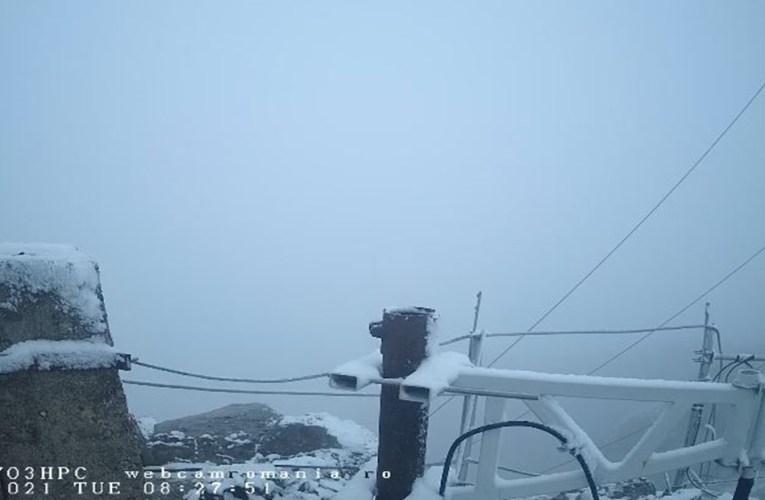 A nins în apropiere de județul Vaslui, la 1900 m altitudine! Iată cum va fi vremea, în zilele următoare!