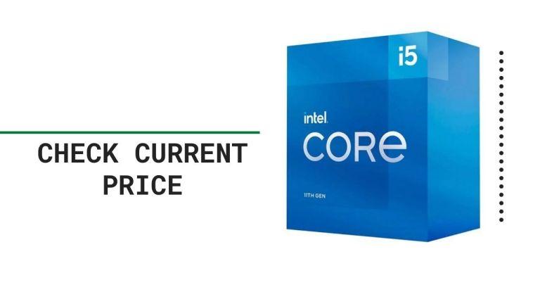 Intel Core i5-11600K Desktop Processor 6 Cores