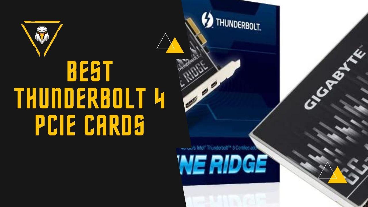 Best Thunderbolt 4 PCIe Cards