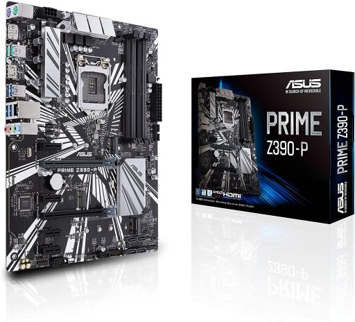 ASUS Prime Z390-P ATX Motherboard for Cryptocurrency Mining (BTC)