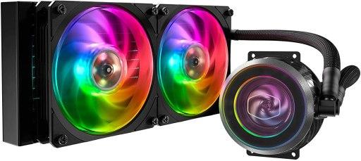 Cooler Master MasterLiquid ML240P AIO CPU Liquid Cooler for AMD Ryzen