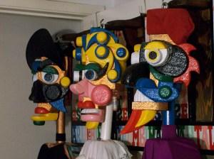 ARLECCHINO, COLOMBINA AND PANTALEONE