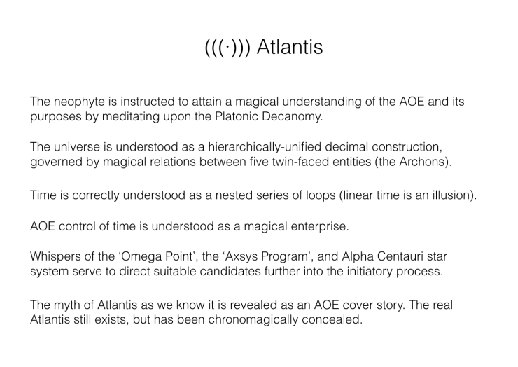 Atlantis (Doctrine)