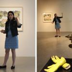 Vernissage Isabelle DEMERS | LE PAYSAGE VOLCANIQUE