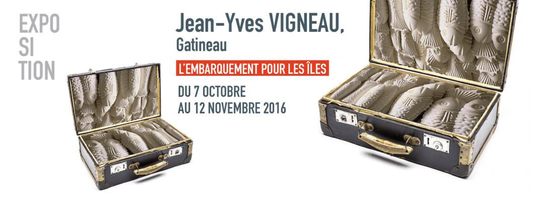 Vaste et Vague Jean-Yves Vigneau Embarquement pour les Îles