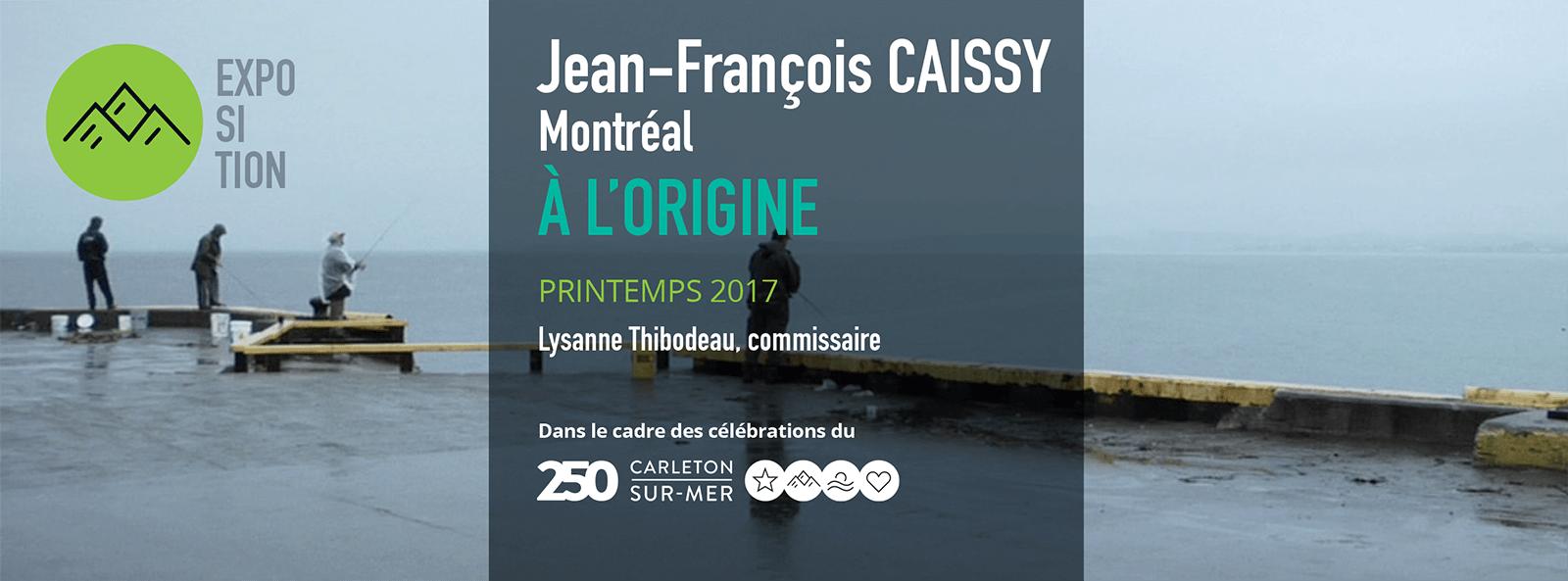 Jean-François CAISSY   À L'ORIGINE   Installation vidéo