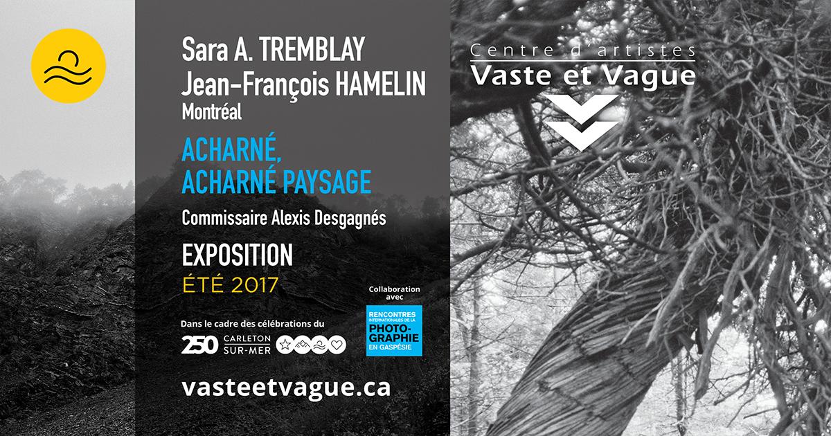 Vaste et Vague | Rencontres internationales de la photograpgie Gaspésie | Sara A. Tremblay et Jean-François HAMELIN | ACHARNÉ, ACHARNÉ PAYSAGE