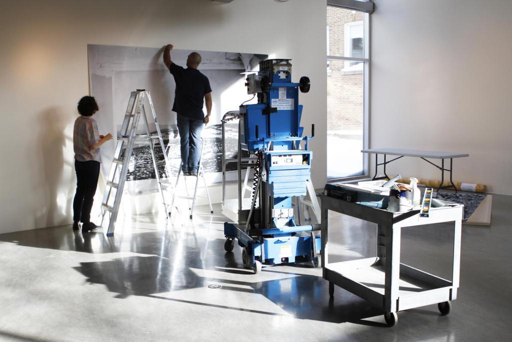 Anne-Marie PROULX | LES AFFLEUREMENTS | Installation