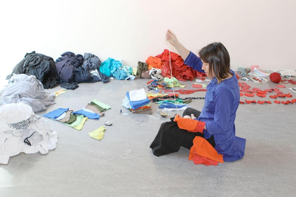 Anjuna LANGEVIN | VOYAGE DE RETOUR | Résidence exposition | Art performance
