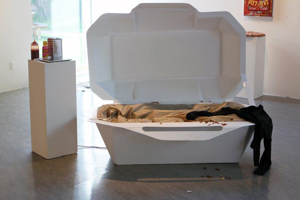 Mihelle Larouche et Carolyne Gauthier | CASSE-CROÛTE | Exposition collective — Artistes membres