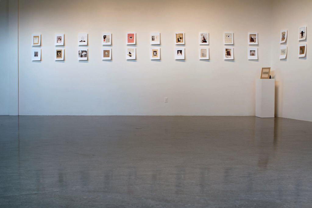 Mathieu SAVOIE : LOVESICK BOY  Collages photographiques   Vaste et Vague   Programmation 2019