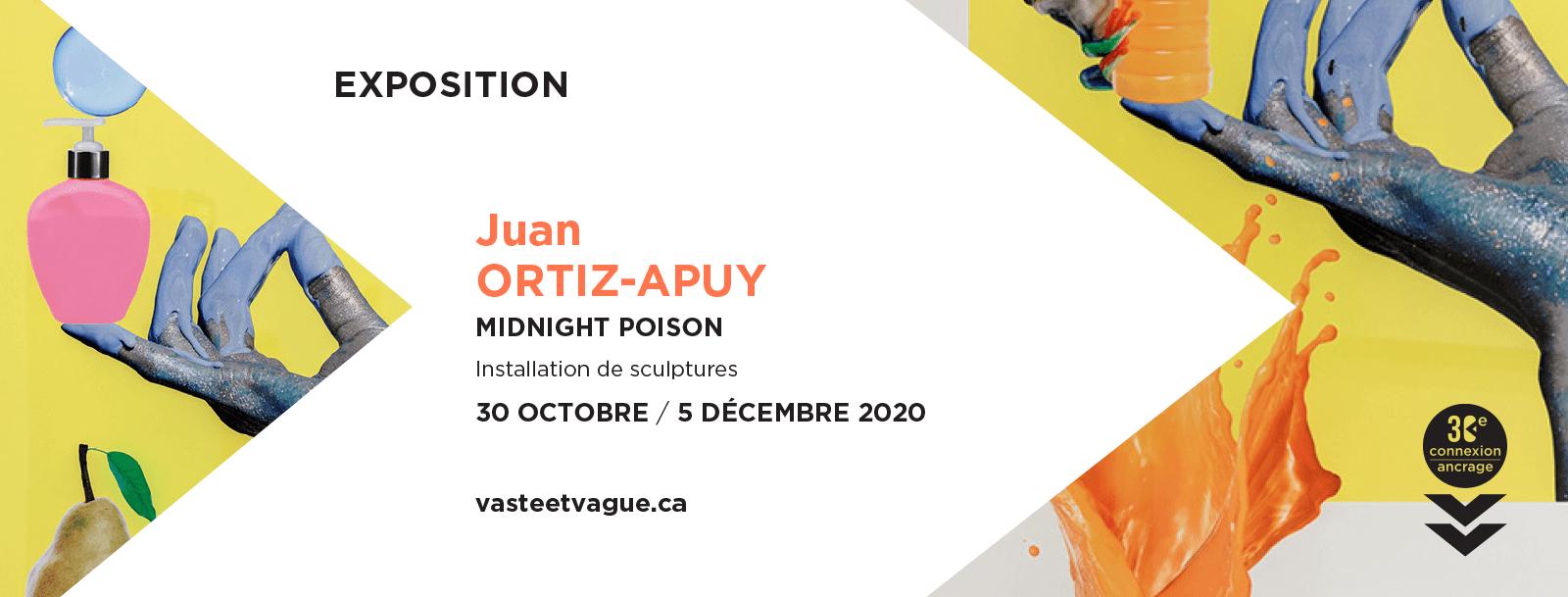 MIDNIGHT POISON | Installation | Juan ORTIZ-APUY