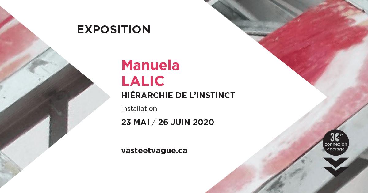HIÉARCHIE DE L'INSTINCT | Installation | Manuela LALIC