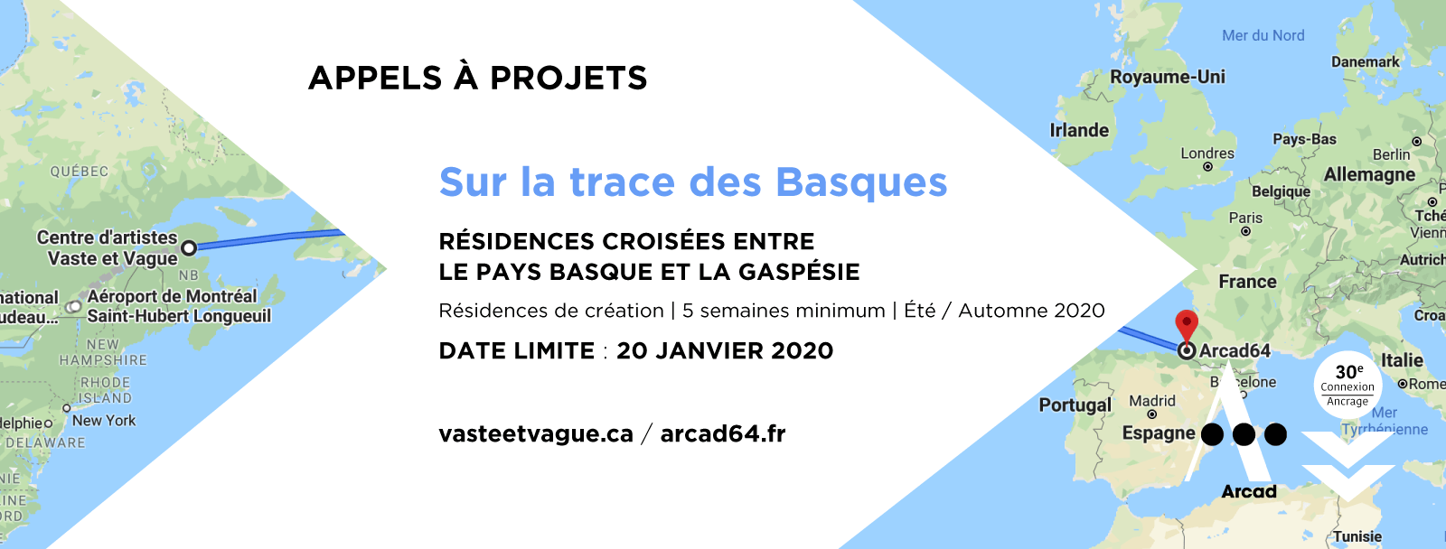 APPELS À PROJETS | Sur la trace des Basques — 2020 | RÉSIDENCES CROISÉES