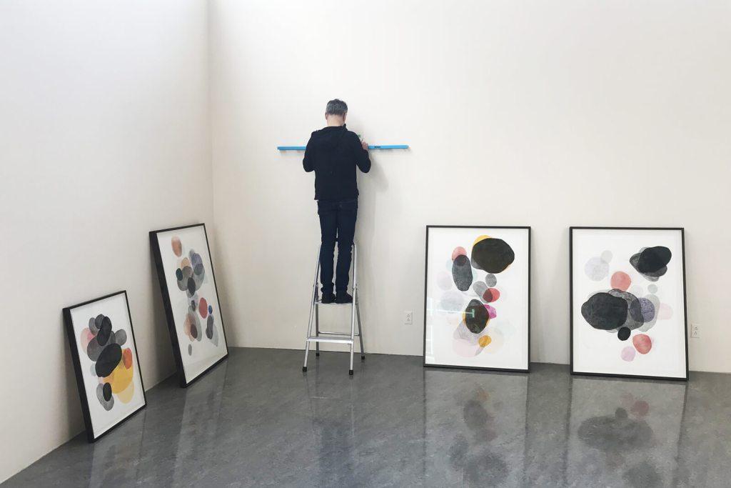 Montage | MULTIPLICITÉ, LUMINOSITÉ ET TRANSPARENCES | Peinture, sérigraphie, dessin |Tania GIRARD SAVOIE