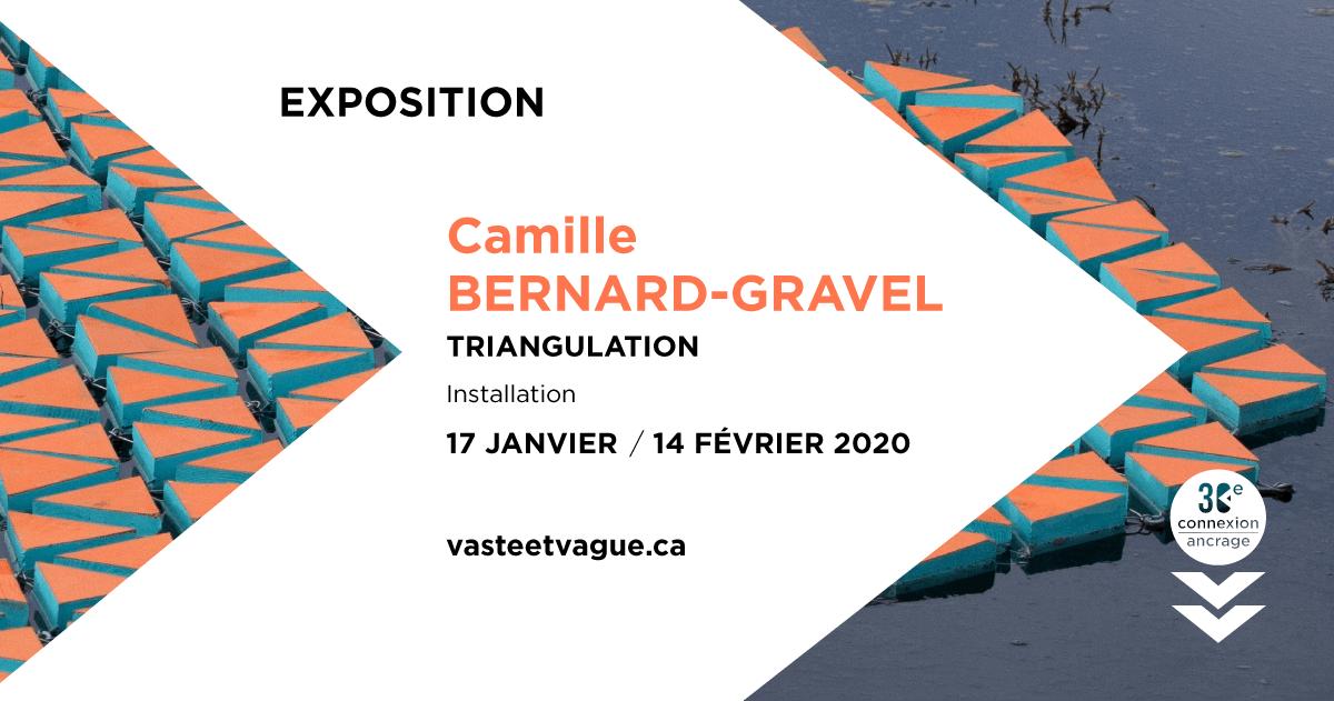 TRIANGULATION | Installation Camille BERNARD-GRAVEL