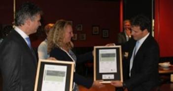 SNS Bank N.V. en CBRE Global Investors ontvangen BREEAM-NL 3 sterren certificaten voor hoofdkantoor SNS Bank N.V. in Utrecht