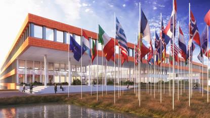 Verbouwing Nato-complex gestart