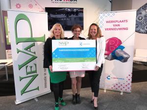 Stichting De Bouwcampus en NeVaP ondertekenen samenwerkingsovereenkomst