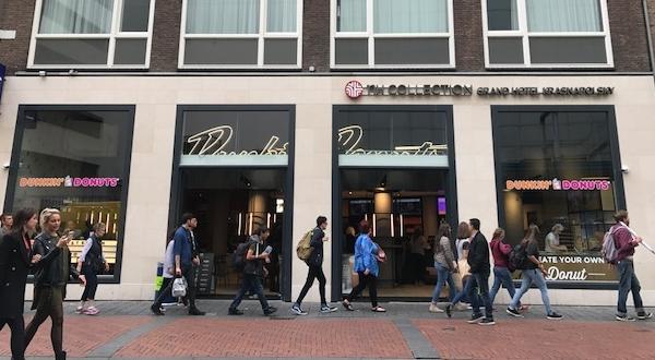 Vijfde vestiging Dunkin' Donuts in centrum Amsterdam