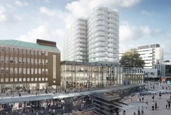 Start realisatie van het binnenstadsproject FORUM Rotterdam