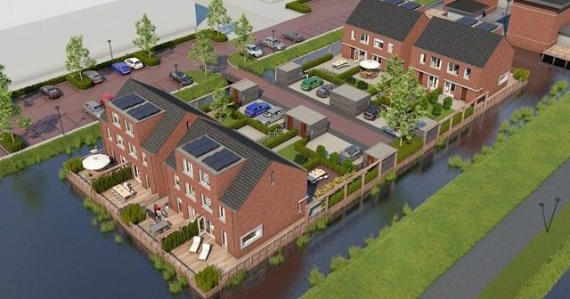 AM geeft startsein bouw laatste woningen wijk Nieuw Craeyenburch in Nootdorp
