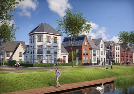 Start bouwwerkzaamheden woningen in Weespersluis