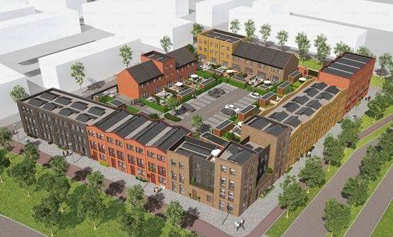 Hurks start met bouw 34 energieneutrale woningen Parkzijde in Leidsche Rijn