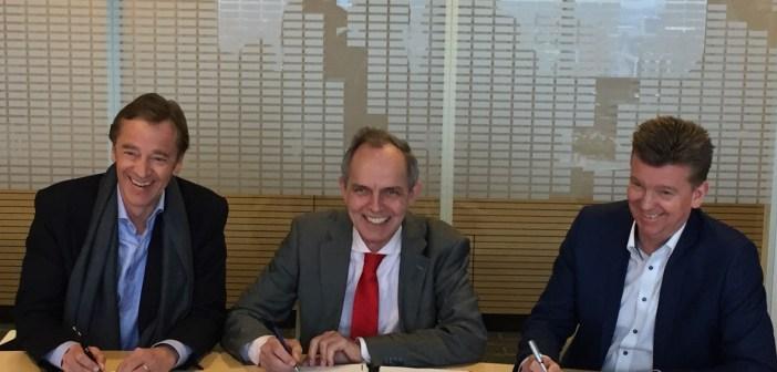Ondertekening exploitatieovereenkomst voor ontwikkeling Kruisvaartkade Utrecht