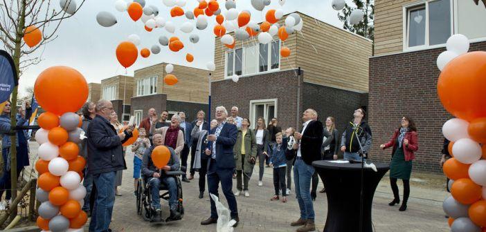 Huybenhof: 16 nieuwe woningen in Horn opgeleverd