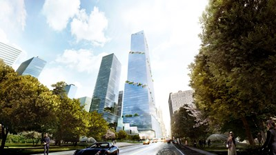 Bouwinvest investeert $ 100 miljoen in kantoorgebouw 'The Spiral' in New York