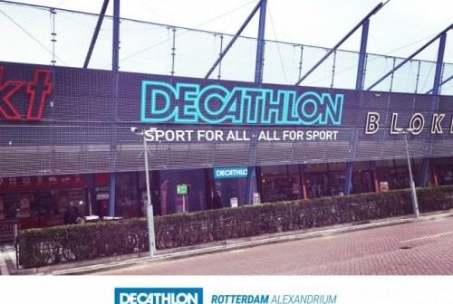 Decathlon nieuwe huurder van 1.575 m² winkelruimte in Alexandrium Megastores in Rotterdam