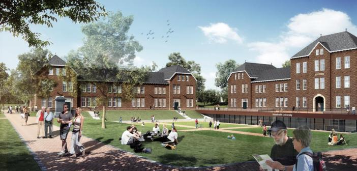 Universiteit Maastricht gunt herinrichting Tapijnkazerne aan Mertens Bouwbedrijf