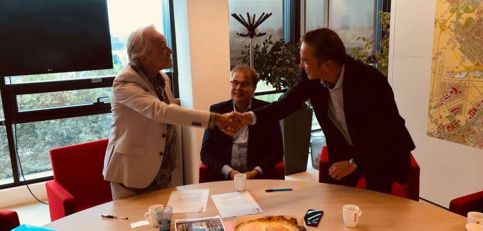 Officiële ondertekening project Amstelstation