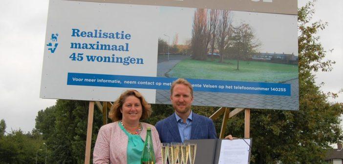 Timpaan en gemeente Velsen tekenen overeenkomst 45 woningen