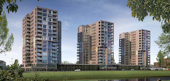 AM geeft startsein bouw duurzame, toekomstbestendige appartementen Overkamppark in Dordrecht