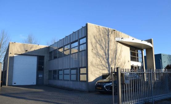 Bedrijfspand verhuurd op Gooisekant in Almere