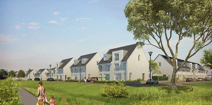Gemeente Maastricht en AM geven startsein bouw tweede fase duurzame woonwijk ZouwdalVeste in Maastricht