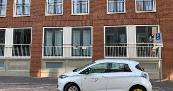 Syntrus Achmea laat huurders in centrum Utrecht gratis kennismaken met elektrische deelauto's