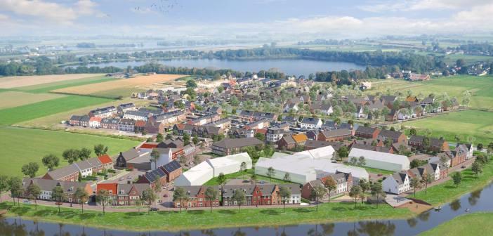 Wethouder Van Tilburg verricht officiële handeling start bouw tweede fase Het Dorpshart in Vianen