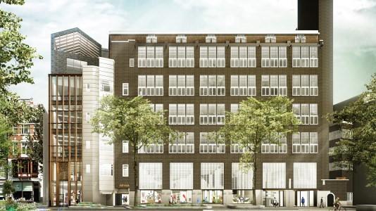 BAM herontwikkelt voormalig Telegraafgebouw voor Kroonenberg Groep
