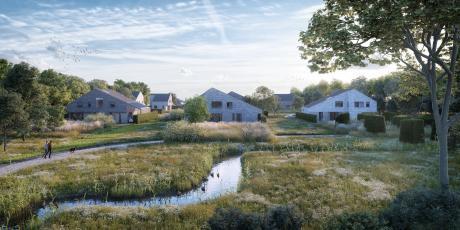 Blauwhoed zet met Buitenvoorde de toon voor woningbouw in Vlietvoorde