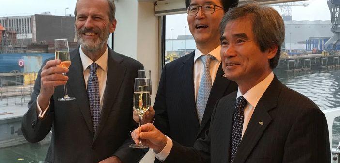 Busan Port Authority tekent voorovereenkomst Distripark Maasvlakte West