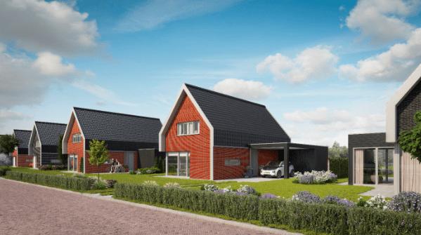Lindewijk in Wolvega krijgt nieuwe woningen zonder gasaansluiting