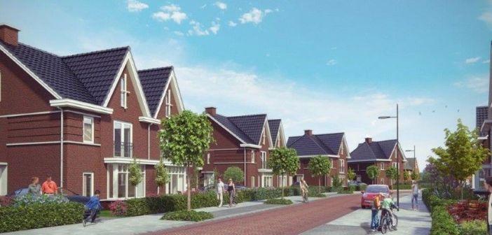 Start bouw 37 woningen Villapark Bosranden in Sterrenberg Huis ter Heide
